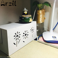 Plastic Plug Cable Storage Box Wire Socket Outlet Board Safety Organizer Tidy Case Box Home Table