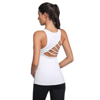 Vrouw Sport Yoga Vest Gym Fitness Beha Sexy Unieke Terug Holle Design Zachte Ademend Materiaal Running Ondergoed SCL357