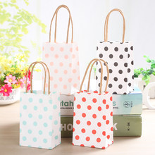 Easter Shopping Bag Wrapping Supplies Candy Paper Bag Jewelry Package Bag with Handles Wedding Decoration Favor Gift Makeup bag(China)