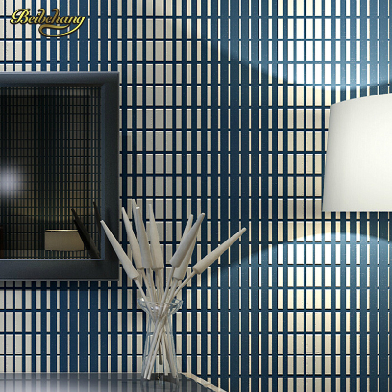 beibehang papel de parede Non - woven high foam 3D gradient grating wallpaper living room bedroom sofa TV background wallpaper beibehang southeast asia style elephant giraffe non woven living room bedroom bedside background wallpaper papel de parede