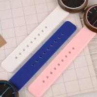 Reloj mujer madera silicona 3