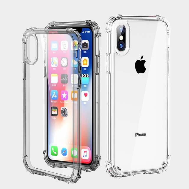 Transparent Shockproof Case for iPhone SE (2020) 6