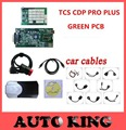 Free shipping! tcs cdp pro plus with Full 8pcs car cables for cars and trucks obd2 diagnostic tool ---long warranty