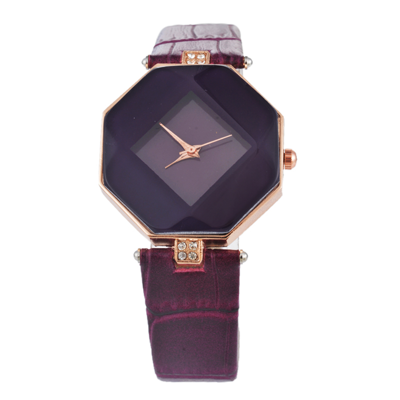 Multicolor Rhinestone Casual Wrist Watch
