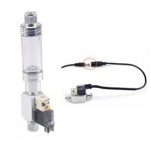Wyin 110-240V Low Temperature DIY CO2 Aquarium Magnetic Solenoid Valve Regulator, Free Shipping Carbon dioxide solenoid valve цена в Москве и Питере