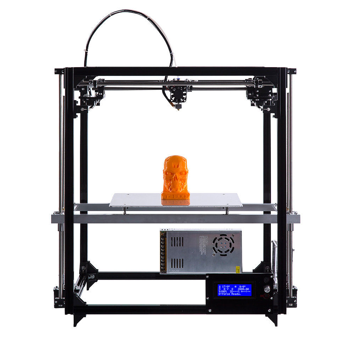 260x260x350mm Full Automatic 3D Printer Kit DIY Double Extruder Fast heat dissipation 3D Printer worldwide fast delivery manufacturer 3d printer material 1 kg 2 2lb 20