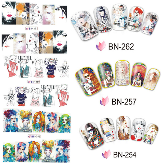 Bn Girl Sticker