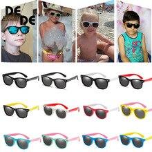 Hot Sale Polarized Kids Sunglasses Child Black Sun Glasses for Baby Girls Boy Eyeglasses 2-11 Years