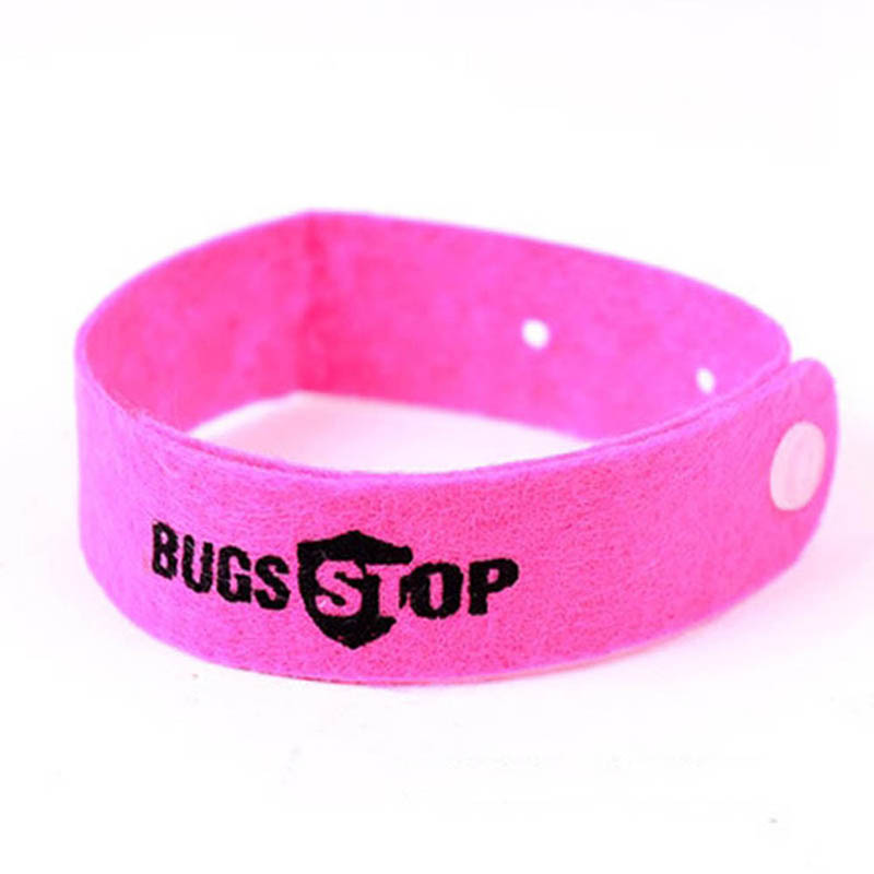 New 10Pcs Bracelet Anti Mosquito Mozzie Insect Bugs Repellent Repeller Wrist Band 2017