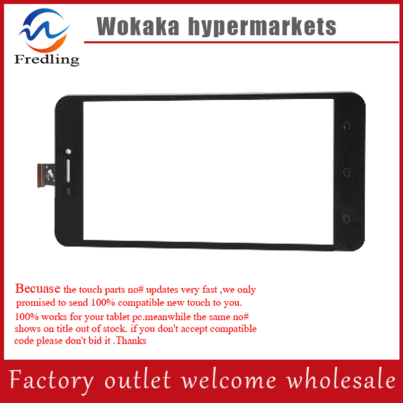 New touch screen For 5'' SENCOR element P502 Front Touch panel Digitizer Glass Sensor Replacement Free Shipping black new for 5 qumo quest 510 touch screen digitizer panel sensor lens glass replacement free shipping