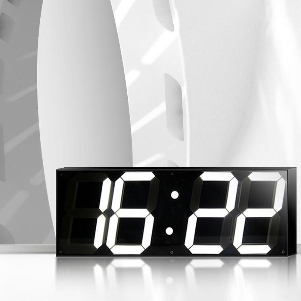 5.9 дюймдік Jumbo Digital Led қабырға сағаттары Мектеп декорының теміржол вокзалы үшін
