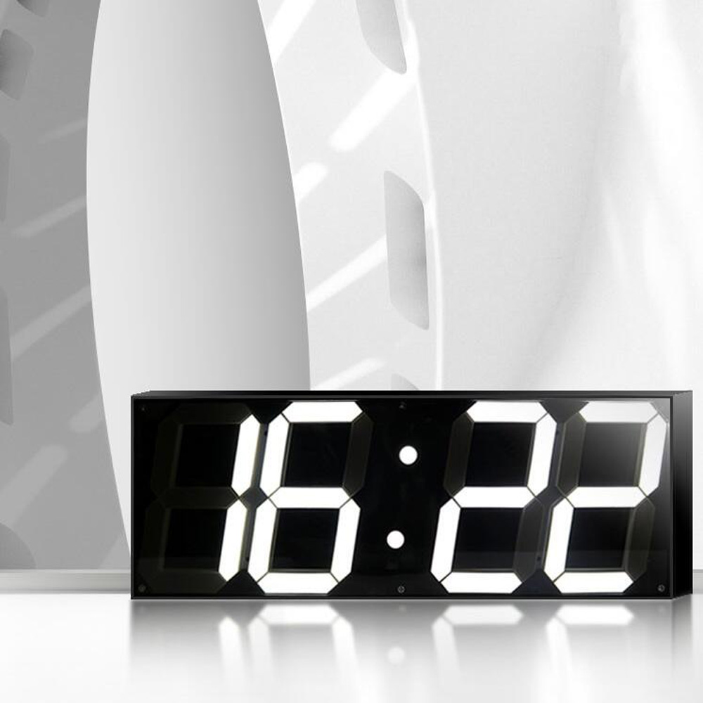 5.9 inch Jumbo Digital Led Wandklok voor School Home Decor Treinstation