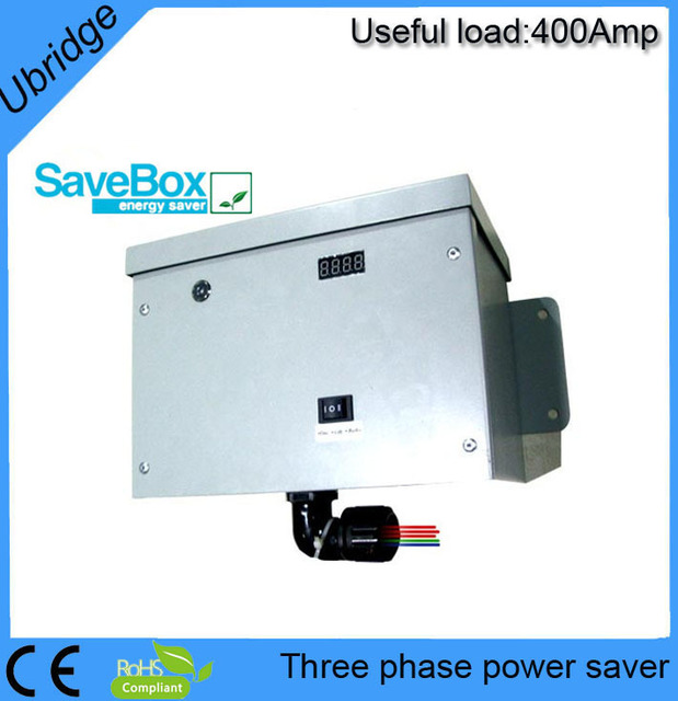 UBT3400 400AMP Commercial  phase power saver,electricity saving box