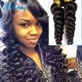 Mink Brazilian Hair Extensions Loose Weave 4pcs/lot tissage bresilienne brazilian hair weave Bundles bob tissage bresilienne