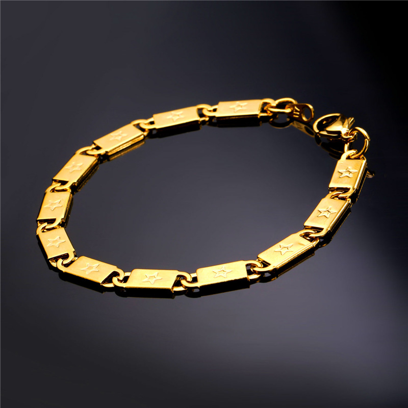 Aliexpress.com : Buy Rock Star Hand Chain Gold Bracelet ...