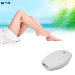 Kemei Portable IPL Epilator Hair Remover Electric Laser Permanent Hair Removal Machine Electric Shaver Lady Razor Face Bikini