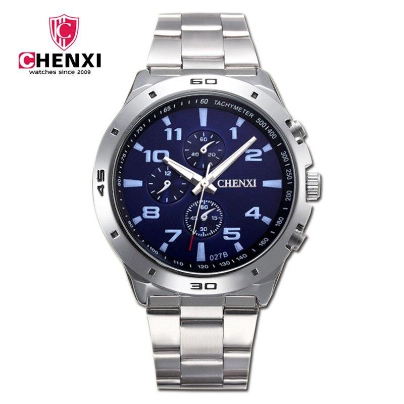 Mode für Männer Uhren Einzigartige Stilvolle Sport Casual Armbanduhr Wasserdichte Große Zifferblatt Silber männer Uhr Beste Geschenk