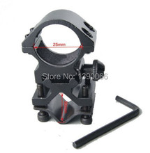 Outdoor Hunt Equipment Tactical Laser flashlight airsoft rifle Scope Mount for 21mm Rail System