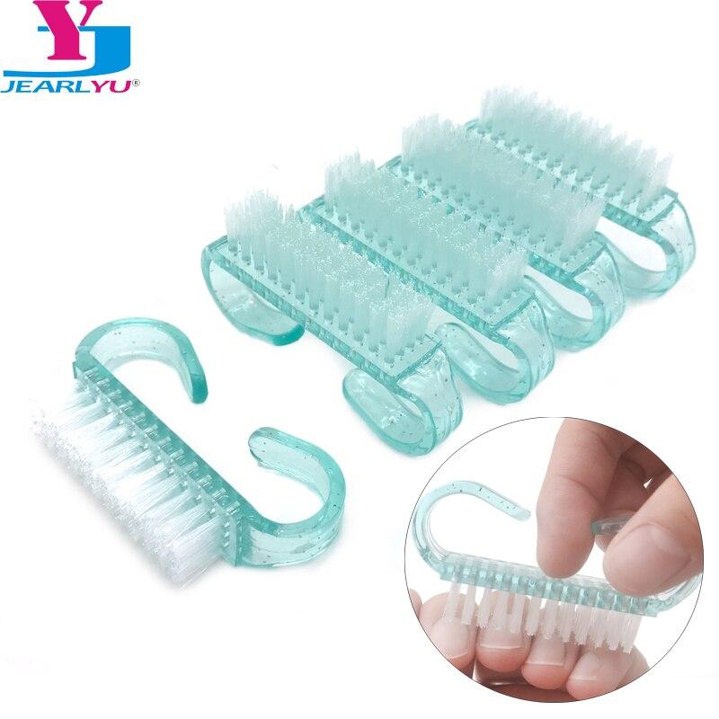 New 10 Pcs Nails Brush UV Gel Nail Art Powder Cleaning Dust Remover Nail Acrylic Brush Nail Art Care Tool Material Para Unhas