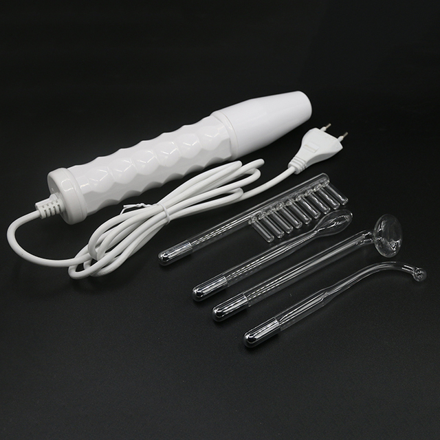4 in 1 High Frequency Anti-inflammatory Acne Spot Remover Face Hair Body Skin Care Tool SPA Beauty Device Machine 100V-240V
