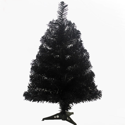 separation shoes a81d8 a148c US $28.16 34% OFF|60 cm Black Artificial Christmas Tree For Event Party  Fashion Christmas Decoration Mini Table Ornament Desk Decor Xmas Tree-in  Trees ...