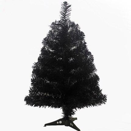 60 cm artificial negro Navidad rbol para fiesta moda Navidad