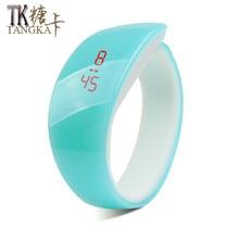 New product Colorful Men/Women Sport LED watches Waterproof Bracelet Digital Wrist electronic Watch