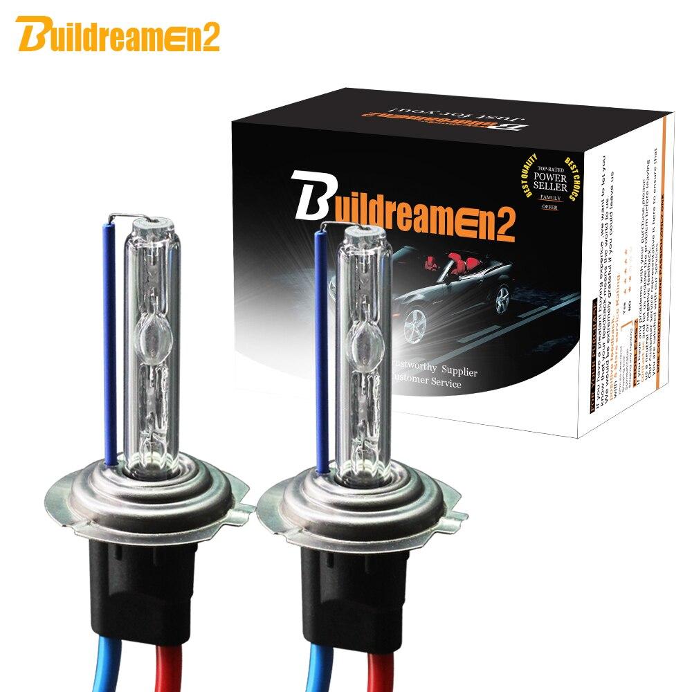 Buildreamen2 H1 H3 H7 H8 H9 H11 9005 HB3 9006 HB4 880 881 55 watt HID-Xenon-Birne 12 v auto scheinwerfer Nebel Lampe 3000 karat 4300 karat 6000 karat 8000 karat