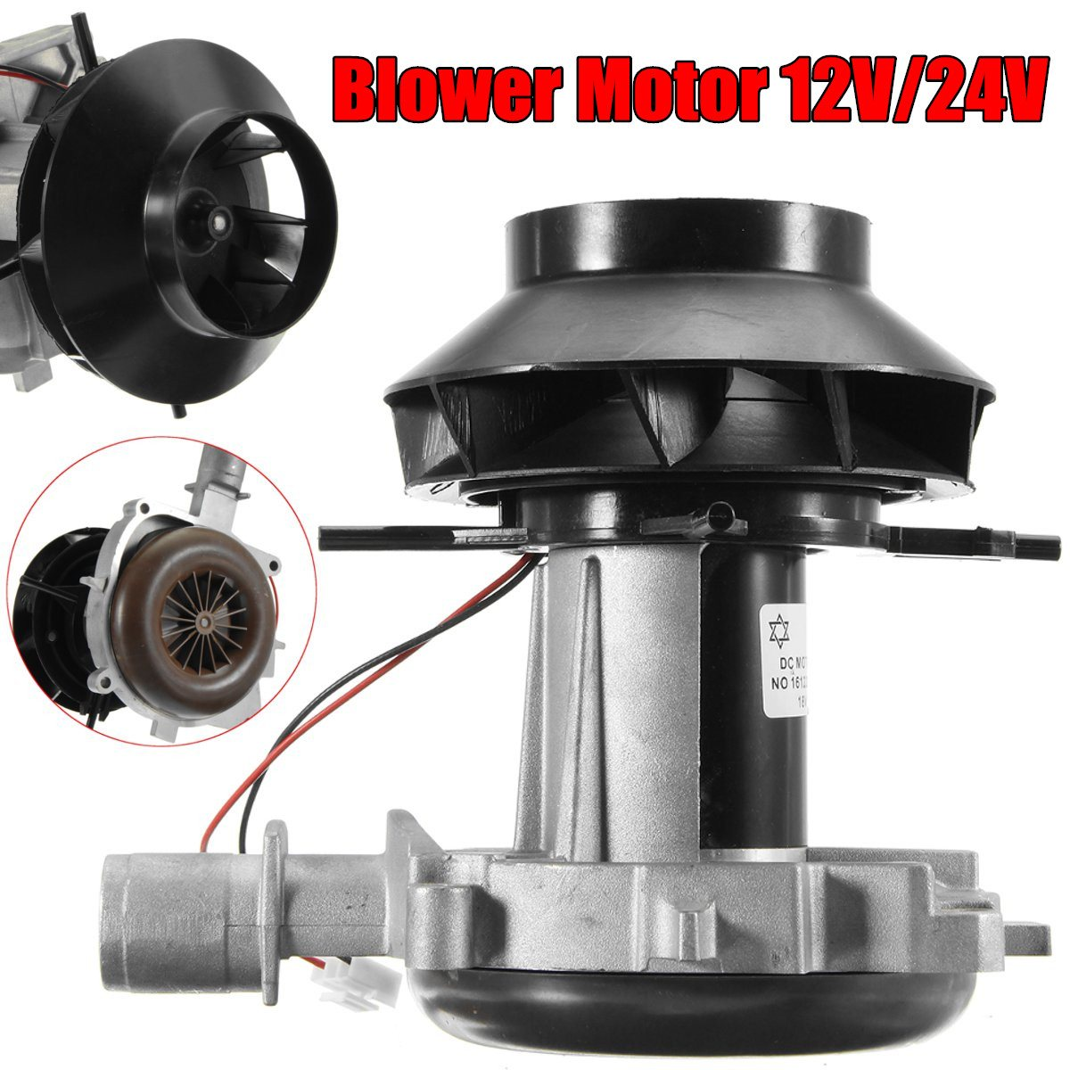 12V 24V Blower Motor Combustion Air Fan For Webasto Eberspacher Airtronic D4 Air Devr Parking Heater Replacement automotive air conditioning outlander blower motor blower motor motor warm wind