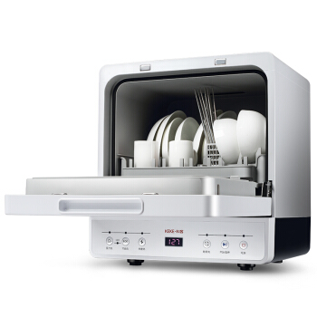 Smart Mini Washing Machine Dishwasher Oxo 3 In 1 Dishes Washer+Sterilization+dryer  Stainless Steel  Drip Washing Type