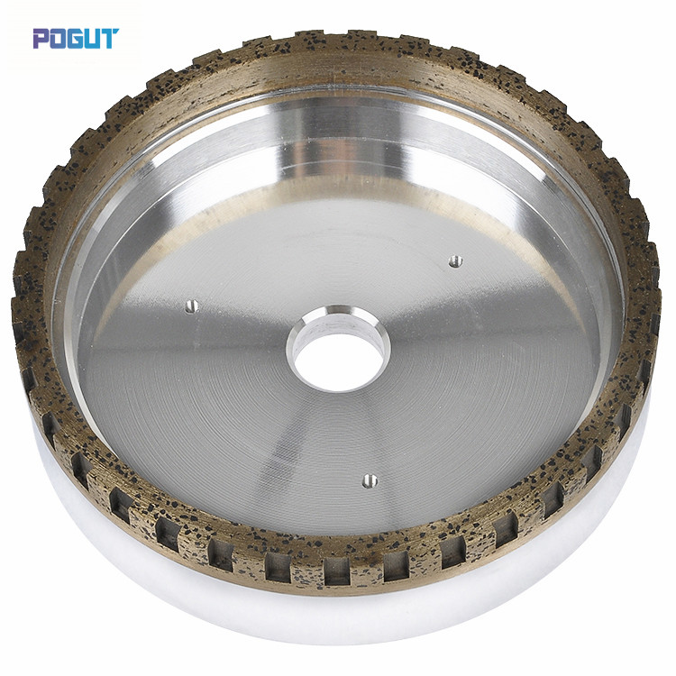 HIGH QUALITY Outside Segmented Diamond Wheel 150*10*8, Diamond wheel of glass beveling machine 4 inch 6 inch straight cup diamond grinding wheel for glass edger straight line double edging beveling machine m009