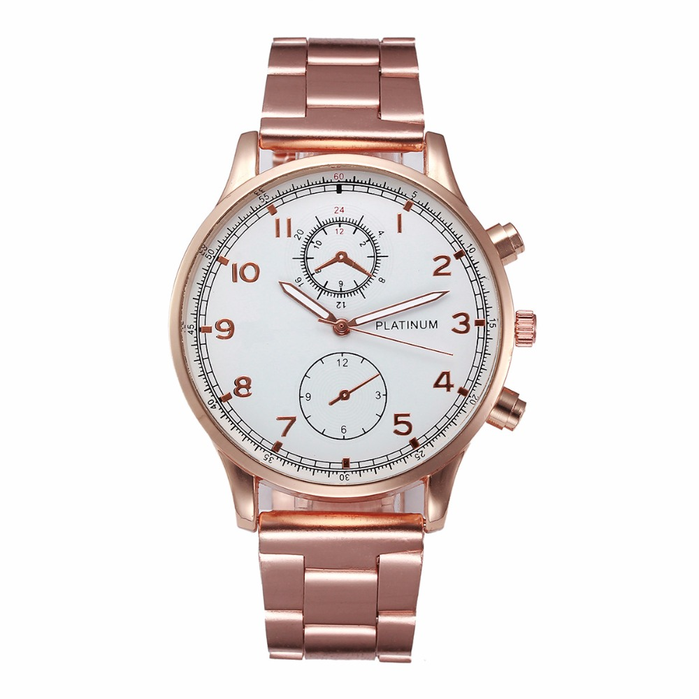Luxury Brand Women Watch Men Fashion Rose Gold Stainless Steel Analog Quartz Wrist Watches Mens Lady Geneva Clock Relogio #Ju  hot luxury brand geneva fashion men women ladies watches gold stailess steel numerals analog quartz wrist watch for men women