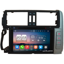 4G 32GB ROM Octa Core Android 6.0 4GB RAM DAB+ 8″ Car DVD Radio Player For Toyota Lander Cruiser Prado 150 2010 2011 2012 2013