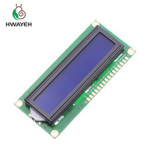 10 ชิ้น New LCD 1602 LCD1602 5 โวลต์จอแสดงผล LCD 16x2 ตัวอักษรโมดูลคอนโทรลเลอร์สีน้ำเงินสำหรับ arduino