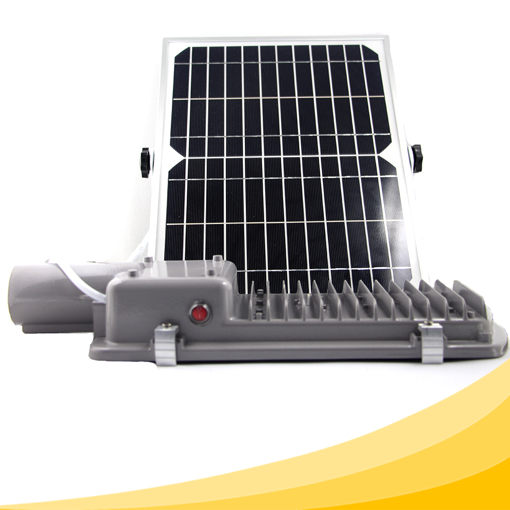 Outdoor 36 LEDs Solar Street Light Waterproof IP65 with Auto Light Control and Timer Control Lighting for 18 Hours Easy Install