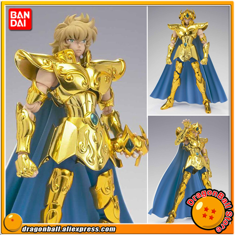 Japan Anime Saint Seiya Original BANDAI Tamashii Nations Saint Cloth Myth EX Action Figure - Leo Aioria protective aluminum alloy abs back case for samsung galaxy s4 i9500 black