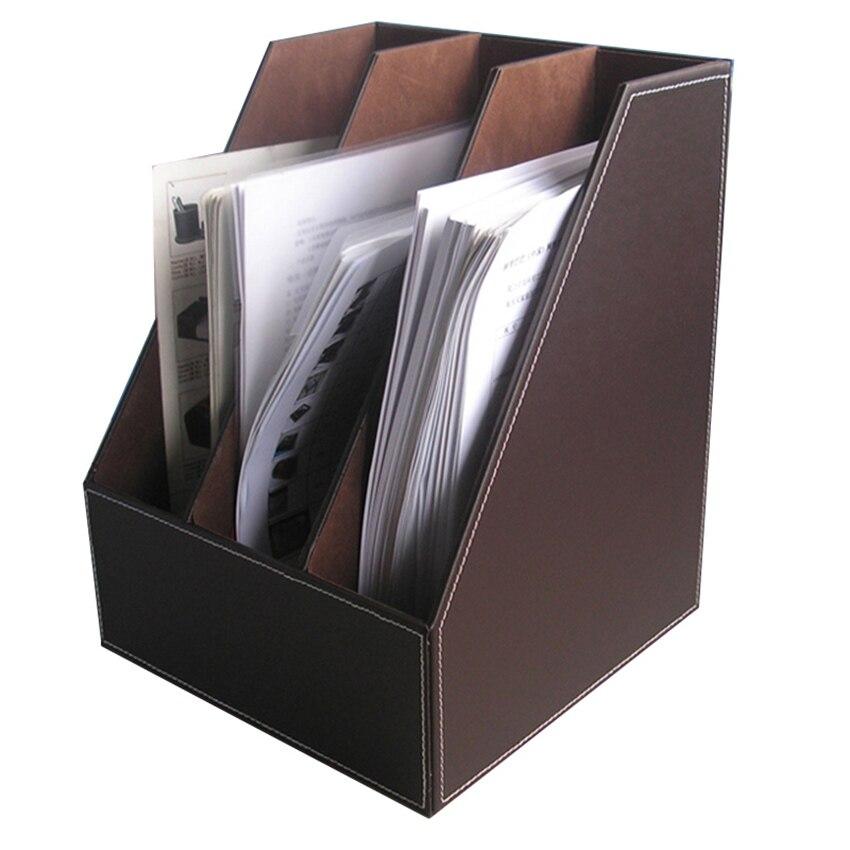 Kingfom Office Organizers File Holder Rectangle Tissue Case Desktop Organizer Pen Memo T52k In Desk Set From School Supplies On