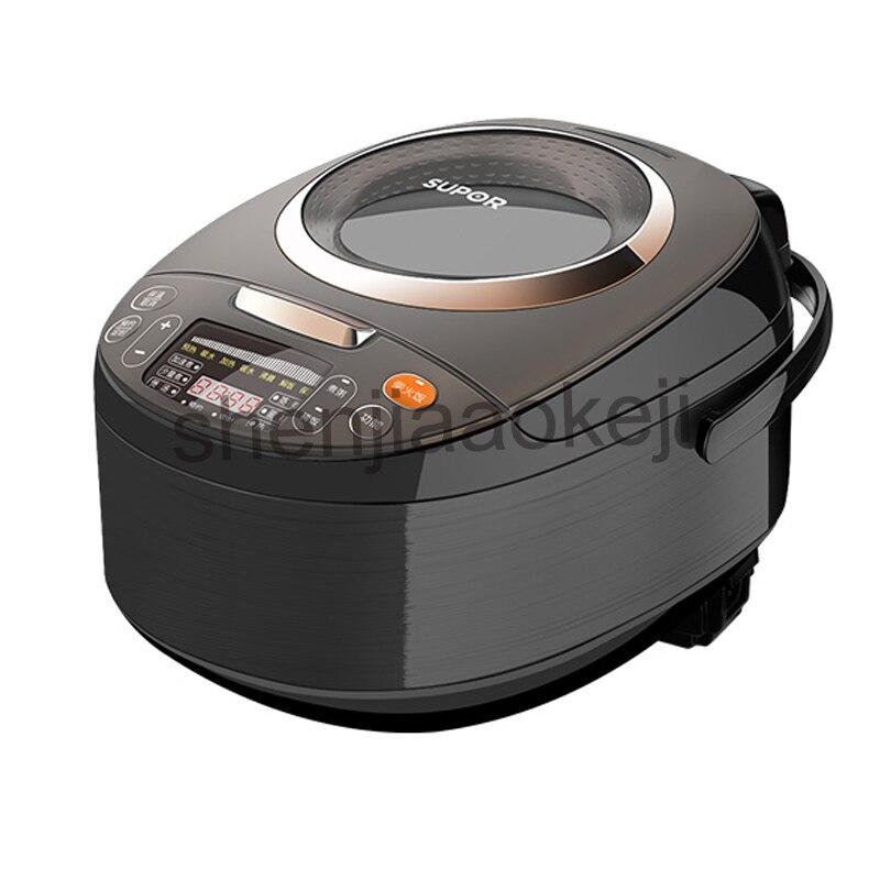 4L ménage smart cuiseur à riz 4-6 personnes Tao revêtement en céramique peut réserver cuiseur à riz en céramique cristal 220 v 800 w 1 pc