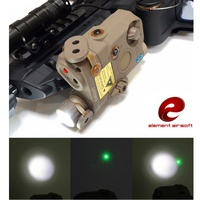 Element EX419 Airsoft Tactical LA 5C UHP Appearance IR Flashlight PEQ Green Laser Light Combo Hunting Weapon Light