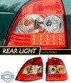 2 pçs/set cauda lâmpada para Lada Priora estilo luz traseira luzes traseiras de lâmpadas Auto luzes produtos para decoração