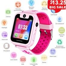 S6 niños reloj inteligente LBS Smartwatches reloj de bebé los Niños SOS  llamada ubicación localizador del 347b6ebb7a78
