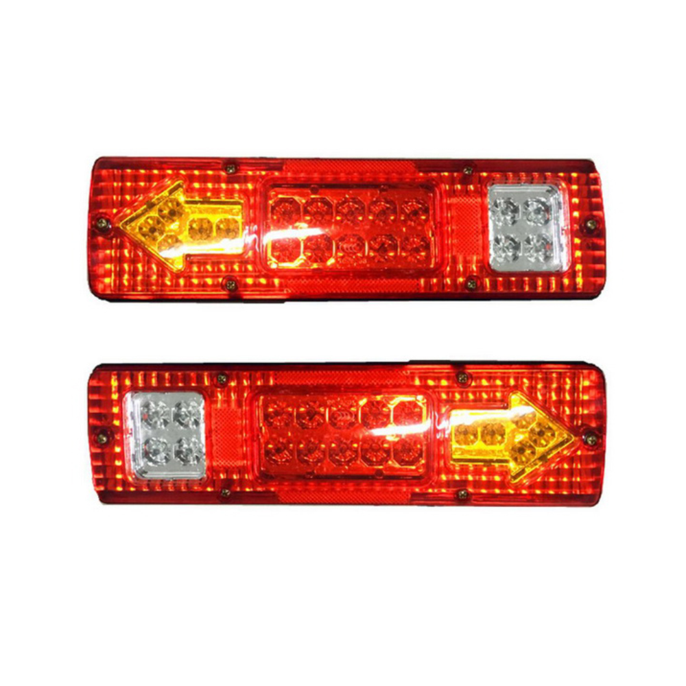 KIMISS 9 LED Rear High Third 3rd Brake Light Lamp,Third Stop Light for Trailer RV Camper Bus Truck Red