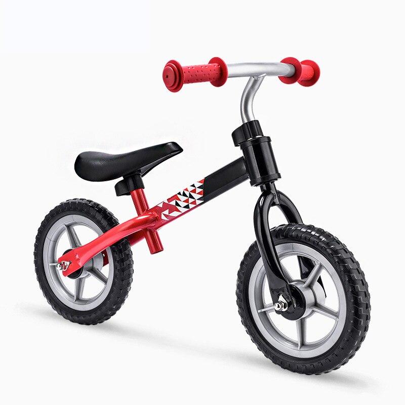 Bébé marcheur Balance vélo solide coffre-fort enfants Scooter en acier à haute teneur en carbone enfants marcheur vélo bébé marcheur avec roues