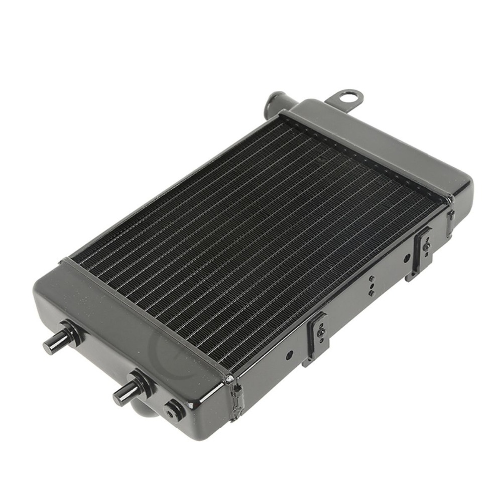 Left Aluminum Radiator Cooler For Aprilia RSV 1000 Tuono 2002-2005 2003 2004 New new motorcycle radiator cooler aluminum motorbike radiator for honda cb400 v tec 99 2000 2001 2002 2003 2004 2005 2006 2007 2008