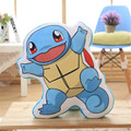 1pc lovely  Pikachu squirtle Plush pillow for Children's Gift Cartoon Charmander Snorlax  Bulbasaur Plush Doll Free shipping