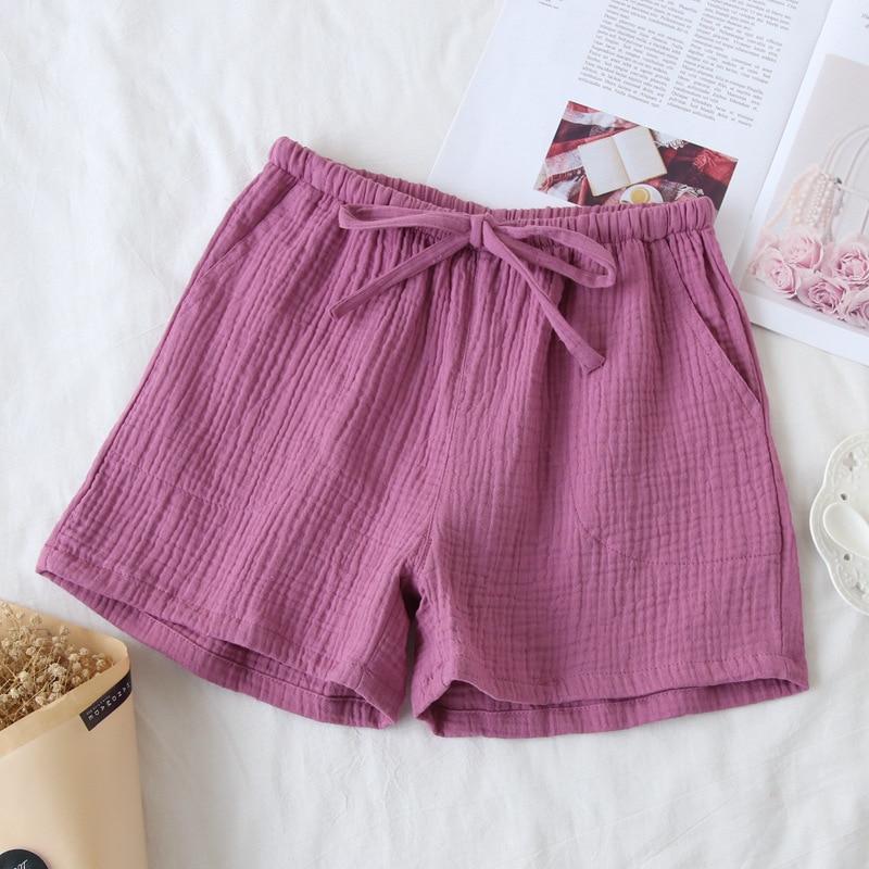 Cotton And Linen Summer Short Pyjamas Pant Women Pajamas Pants Sleepwear Sleep Pant Girl's Homewear Pijama Pants