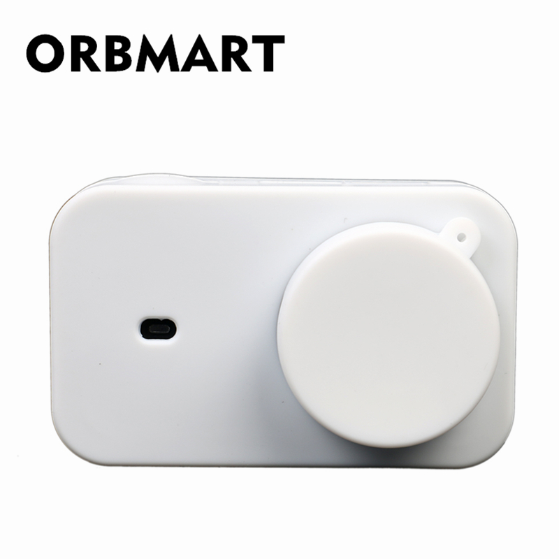 ORBMART Soft Silicone Protective Cover Bag Shell For Xiaomi Yi 4K Mini Action Sport Came ...