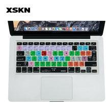 Чехол xskn для клавиатуры logic pro x 10 функциональный силиконовый