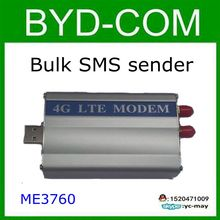 4G LTE MODEM Industrial ZTE ME3760 Module Bulk SMS send message report gprs voice internet develop software