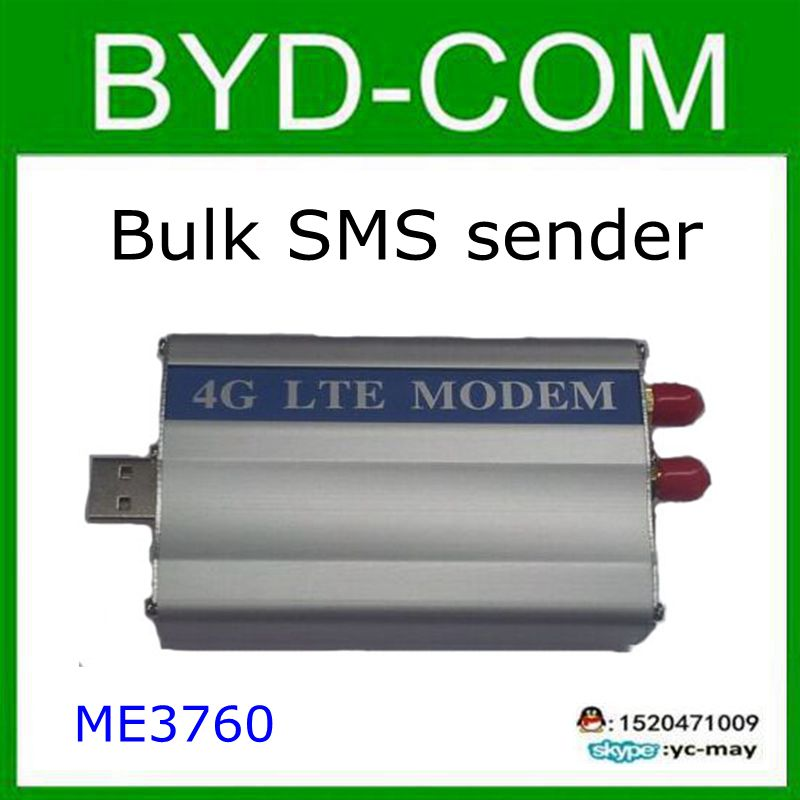 4G LTE MODEM Industrielles ZTE ME3760-Modul Bulk-SMS-Nachricht senden - Heim-Audio und Video